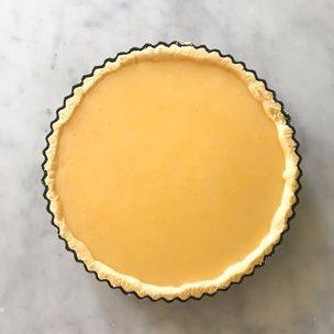 La classique tarte au citron