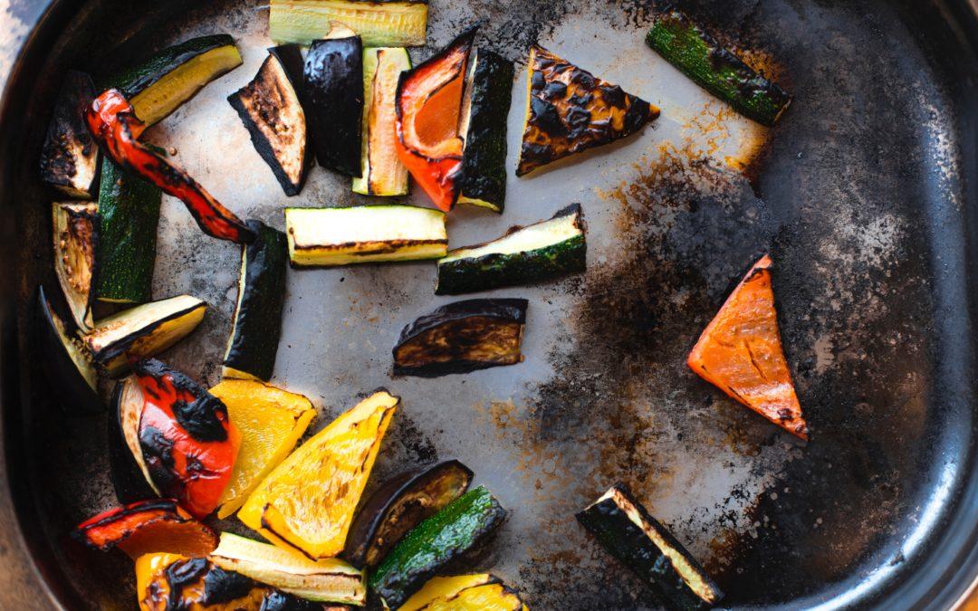 Légumes grillés colorés!